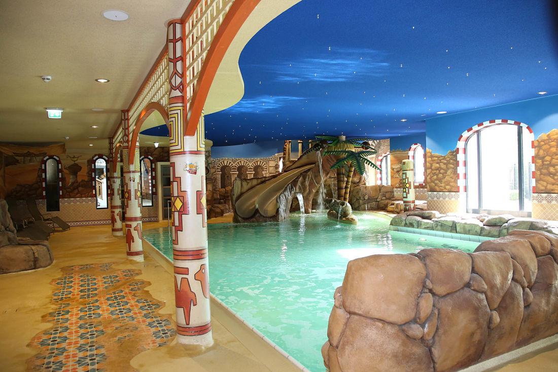 Eršffnung Sultans Spa§bad im Heide Park Abenteuerhotel.
