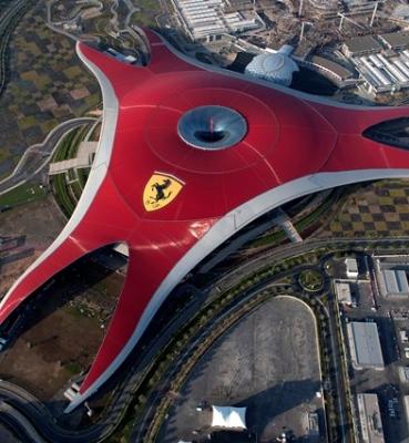 TAA Group at Ferrari World Abu Dhabi<br/><span>04/2015</span>